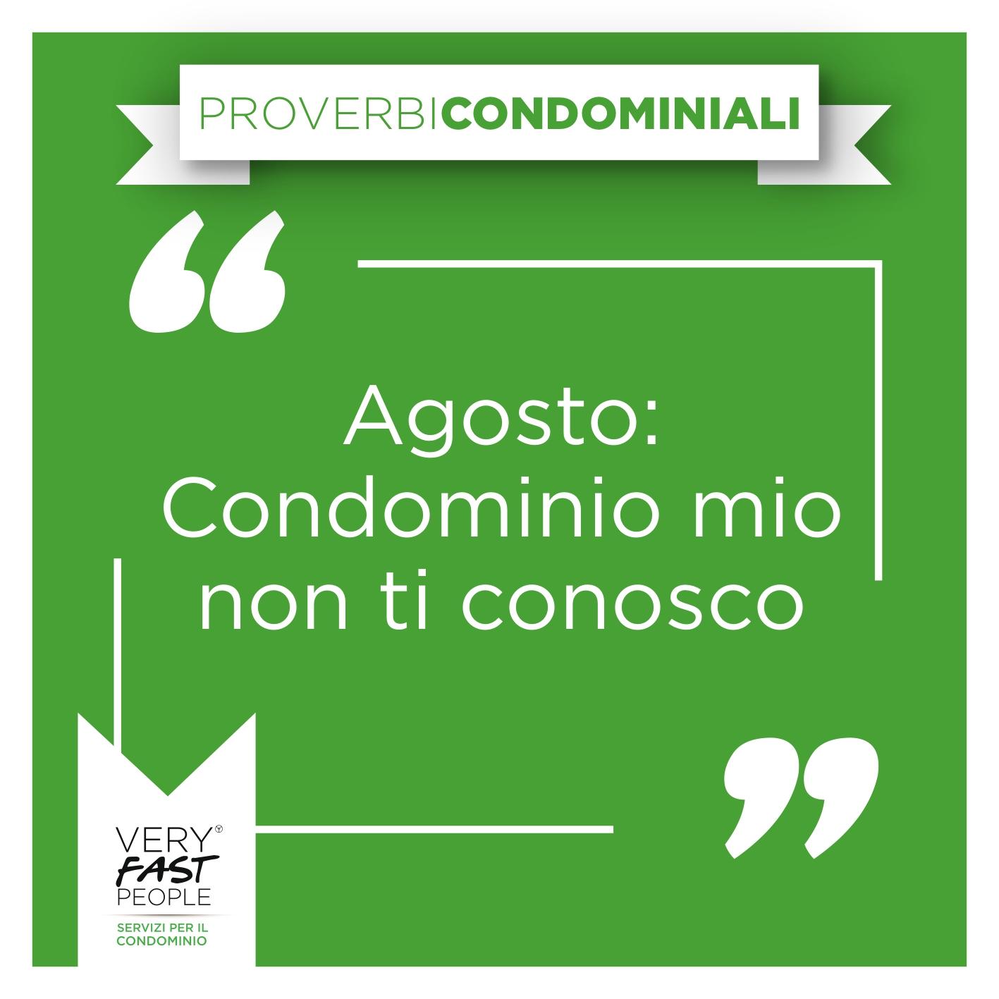 proverbi condominio