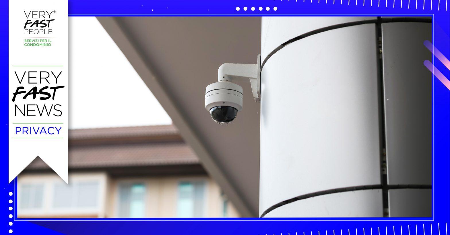 Impianto di videosorveglianza in Condominio