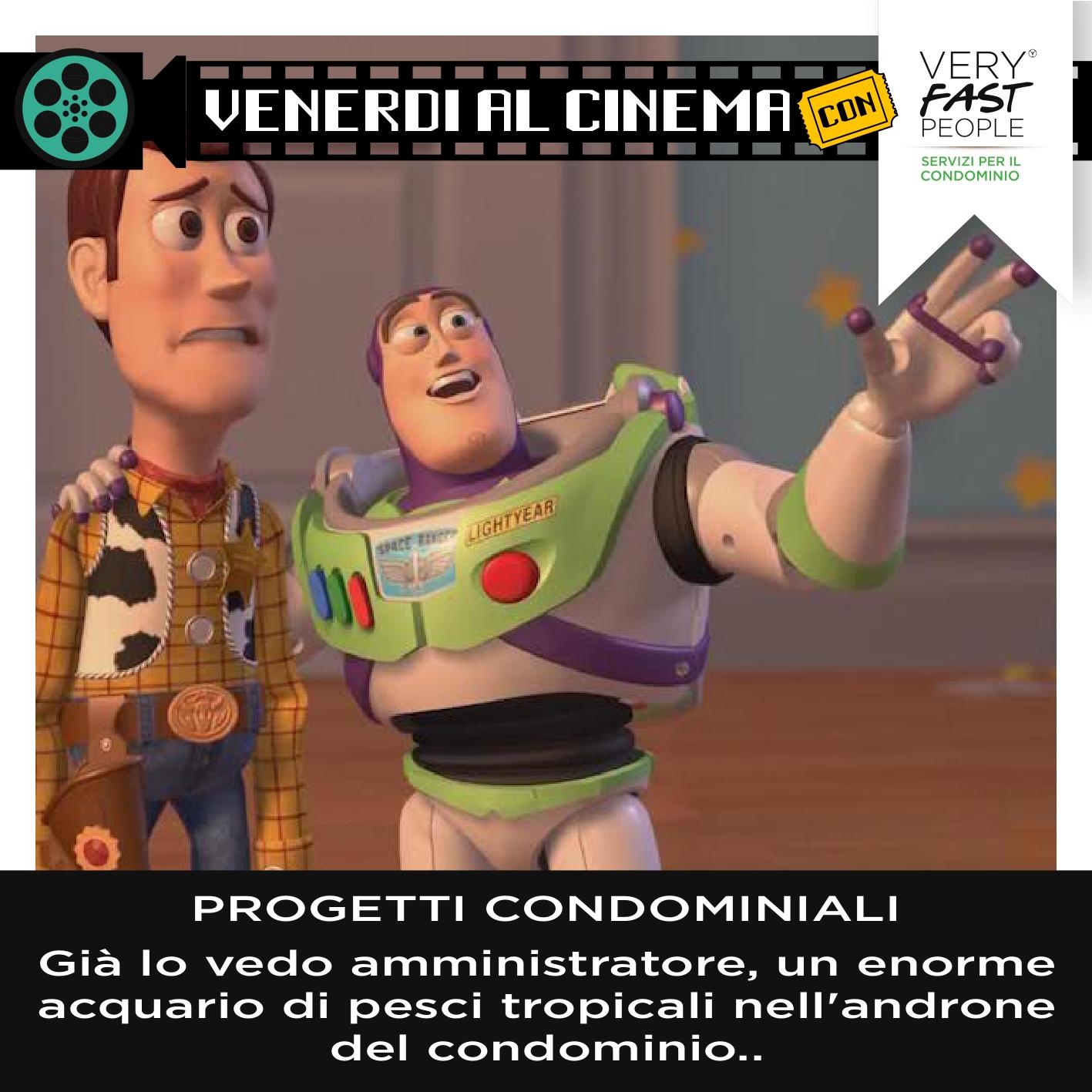 Toy Story 2: progetti condominiali